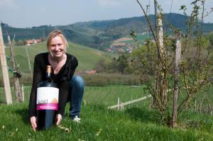 Nach ihrer Amtszeit als Weinhoheit hat Tamara Kögl das elterliche Weingut übernommen.