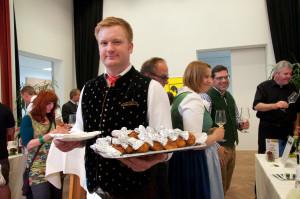 Die Wirte der Region versorgten die Gäste mit kulinarischen Highlights.