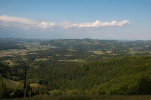 Belohnt wird die Klammwanderung mit einer wunderbaren Fernsicht über die gesamte Steiermark.