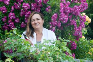 """""""Mein Rosengarten ist für mich etwas ganze persönliches,"""" erzählt Renate Polz."""