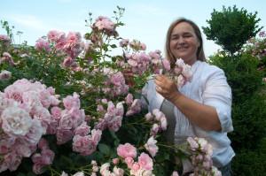 """""""Wenn eine Pflanze duftet, dann hat sie eine Seele"""", ist Renate Polz überzeugt."""