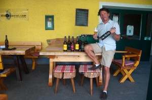 Wolfgang Dietrich hat sich 2007 einen Traum erfüllt und die Brauerei Leutschach gegründet.