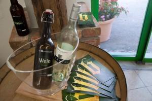 Eine besondere Kreation ist das Weinbier, eine Kombination der für die Region typischen Getränke.
