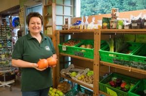 Beim Sortiment setzt Margrit Sallfellner auf saisonale Produkte.