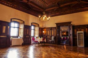 Die Prunkräume eignen sich ideal für Veranstaltungen.