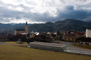 Obwohl mitten in einer Weinregion ist die Kirche von Leutschach nicht dem Weinheiligen Urban sondern dem Heiligen Nikolaus geweiht.