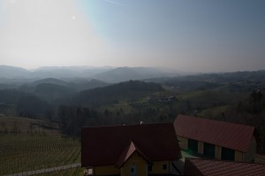 Besonders die Terrasse kann mit einer tollen Aussicht punkten.