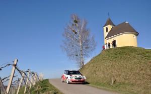 Die südsteirische Weinstraße präsentierte sich bei der diesjährigen Rallye mit Kaiserwetter. Foto: Harald Ilmer (IG Rallye)