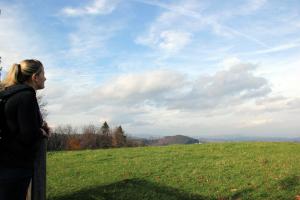 Ausblick vom Lubekogel (Foto: Ulrike Elsneg)