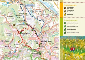 Die Wanderkarte zum Berghausner Rundwanderweg, Download: http://bit.ly/1zIEH9S
