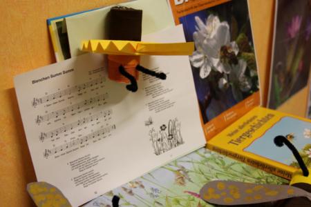 Projekt Bienen Volksschule und Kindergarten Langegg (Foto: Ulrike Elsneg)
