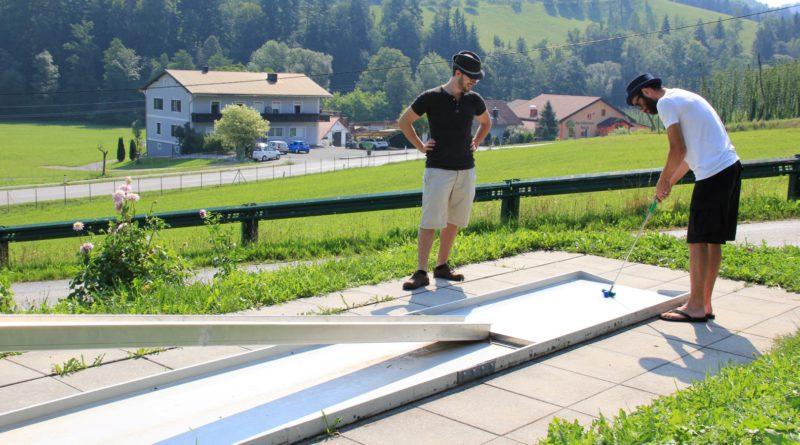 Mini-Golftour in Leutschach