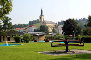 Mini-Golftour in Leutschach an der Weisntraße (Foto: Ulrike Elsneg)