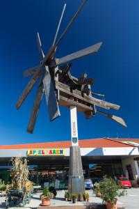 Weltgrößter Klapotetz beim EKZ Rebenland